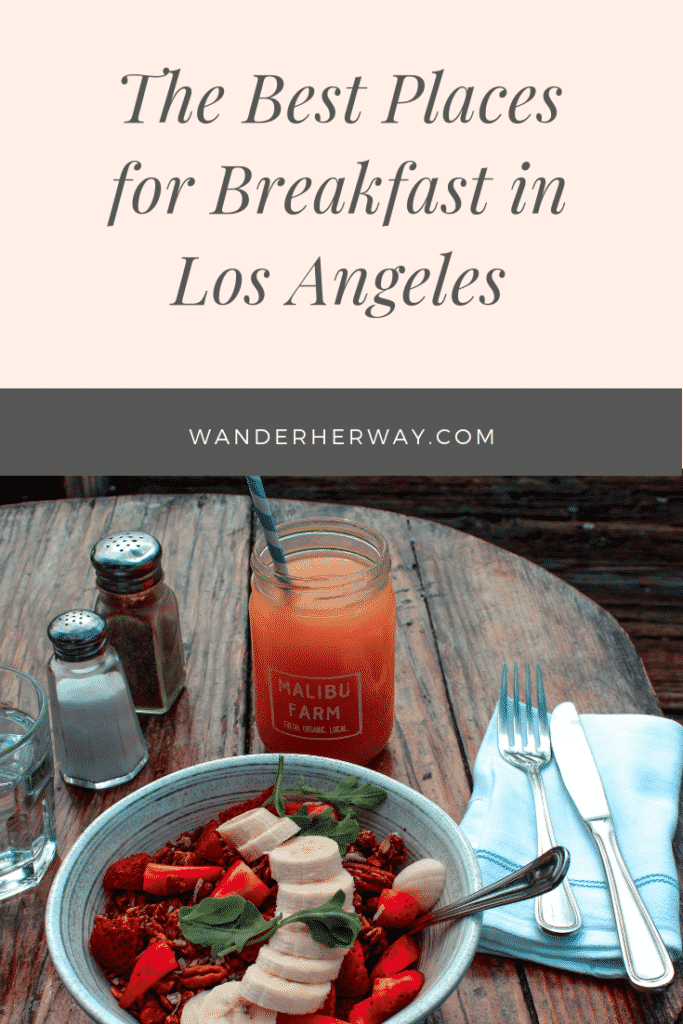 Best Breakfast in Los Angeles