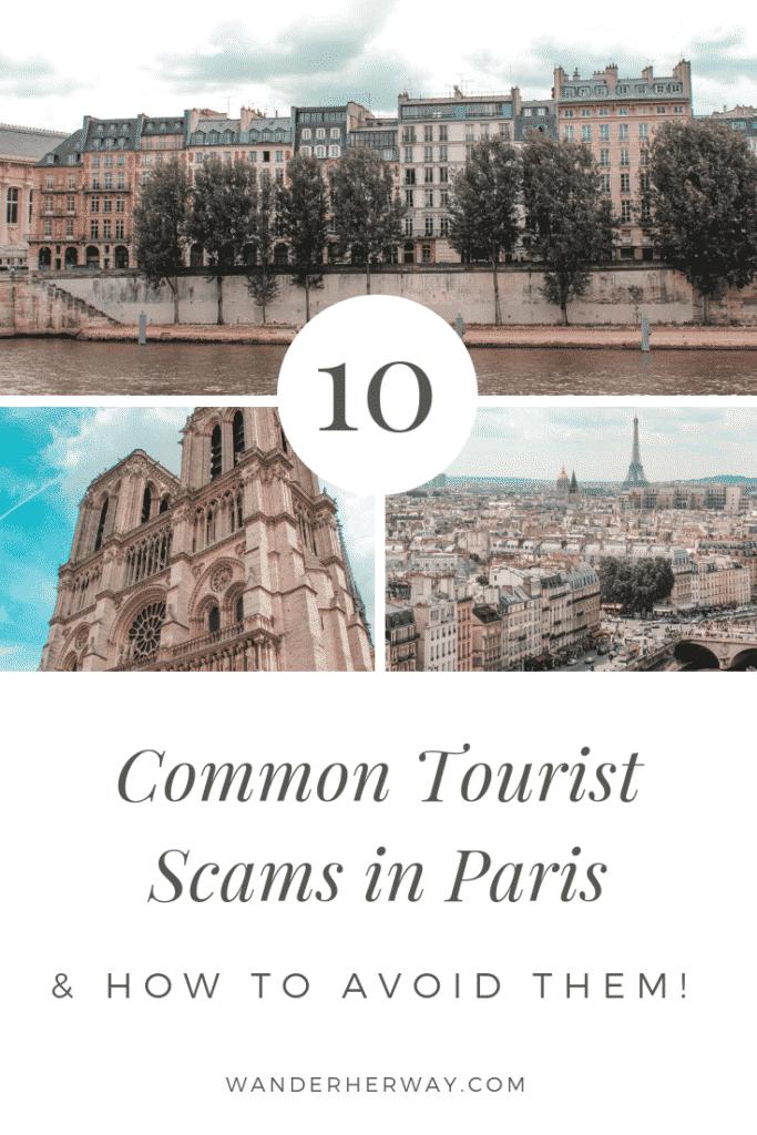 10 Tourist Scams in Paris