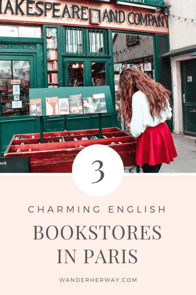 English Bookstores in Paris