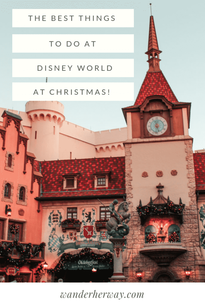 The Best Things to Do at Disney World at Christmas