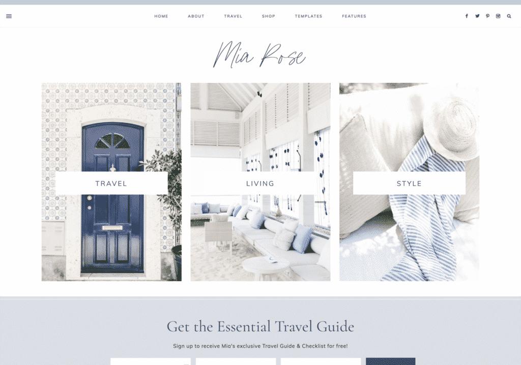 WordPress Themes for Travel Blogs