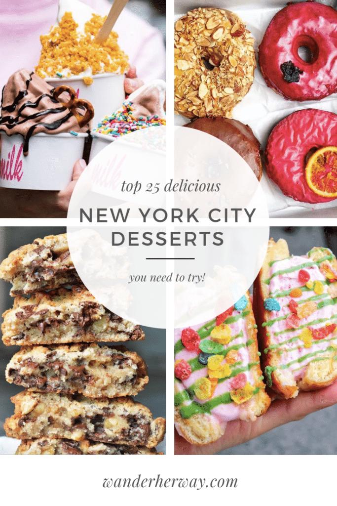 Best Desserts in NYC