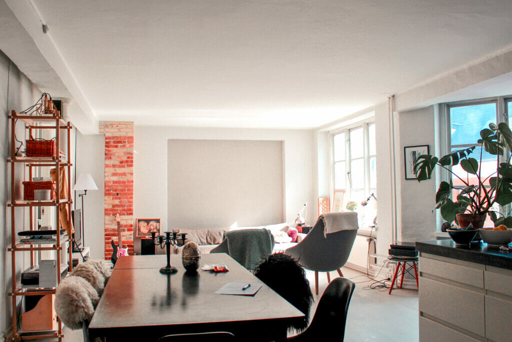 Airbnb apartment in Copenhagen, Denmark