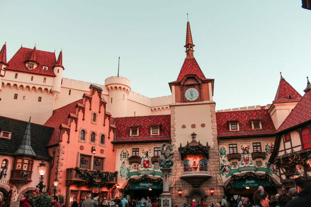 Disney World at Christmas