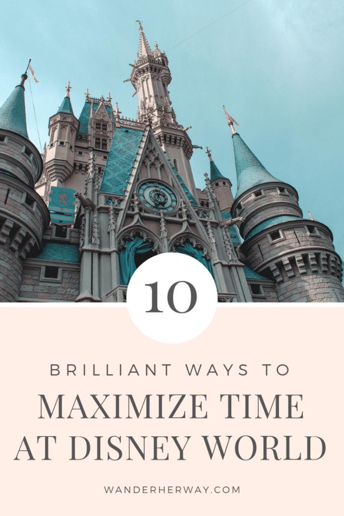 Time Saving Tips for Disney World