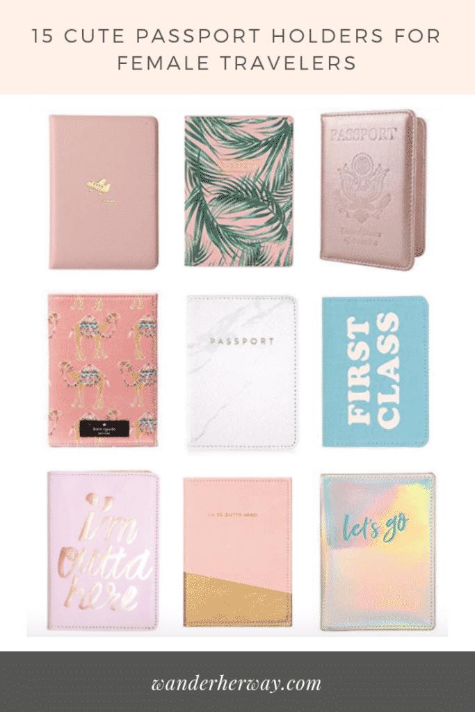 15 Cute Passport Holders for Travelers