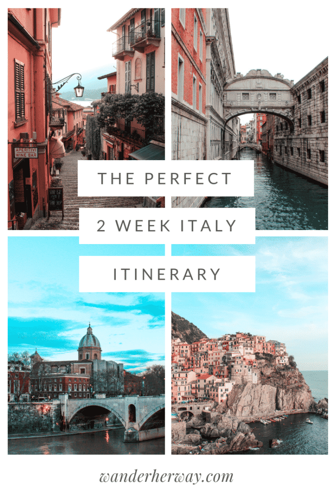 Two Week Italy Itinerary