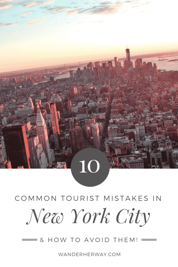 Top 10 New York Mistakes