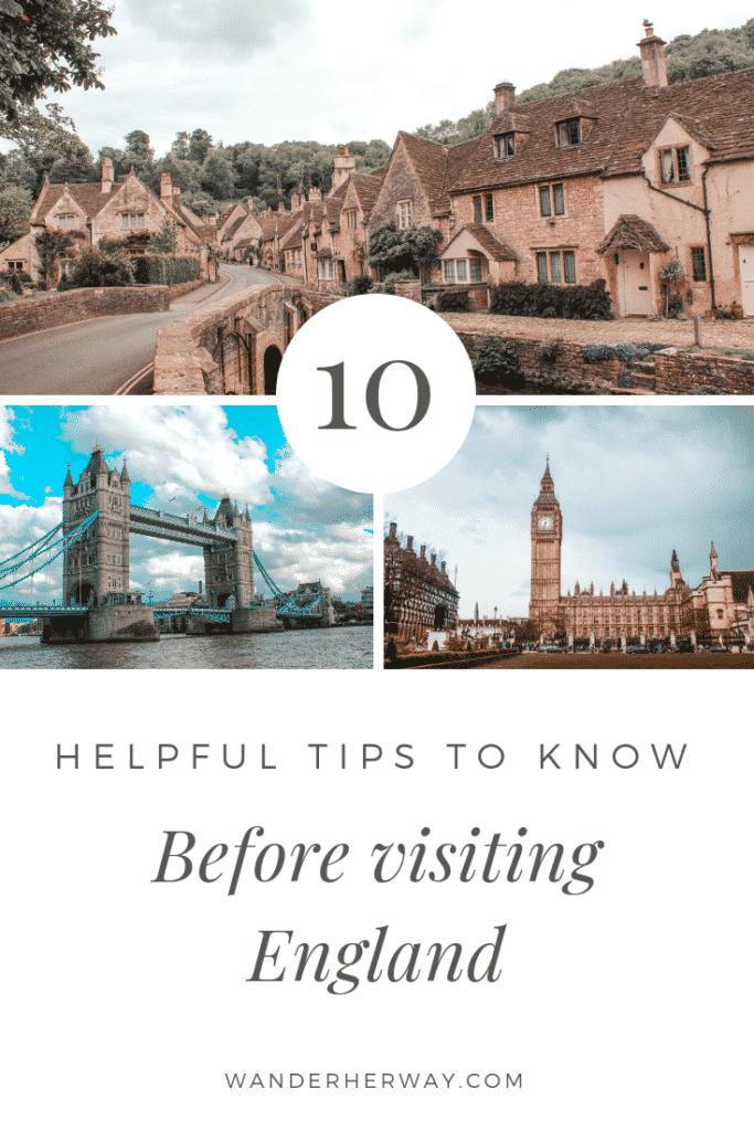 10 England Travel Tips