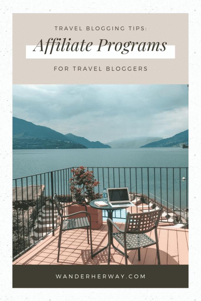 30+ Travel Affiliate Programs for Travel Bloggers