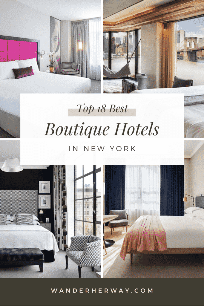 18 Best Boutique Hotels in New York City