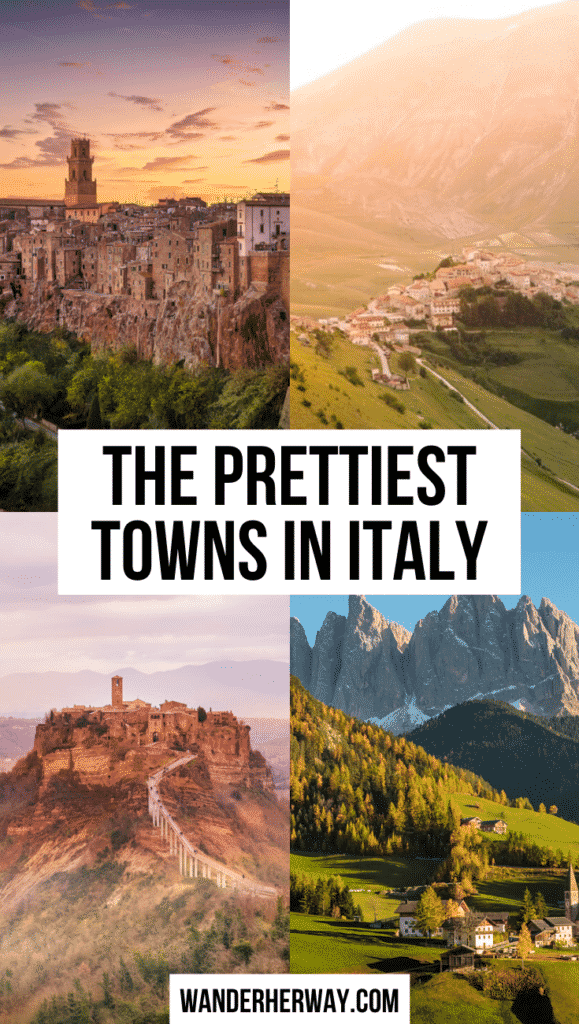 The Prettiest Towns in Italy