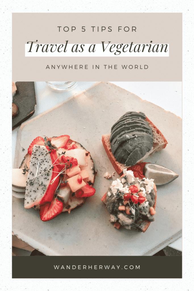 Traveling as a Vegetarian