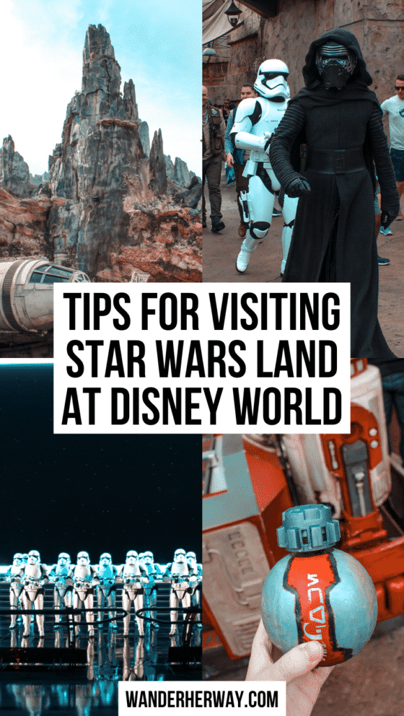 Tips for Visiting Star Wars: Galaxy's Edge