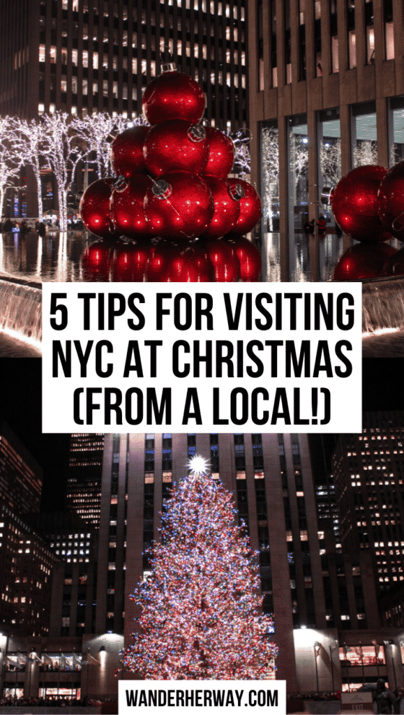5 Tips for New York at Christmas