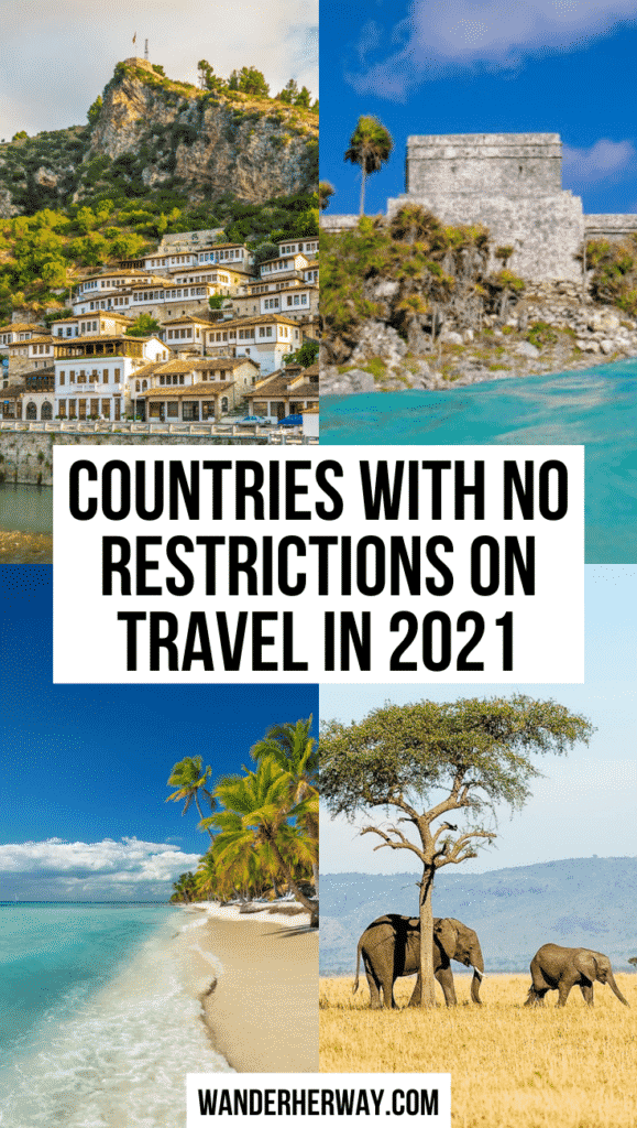 Countries Without Travel Restrictions