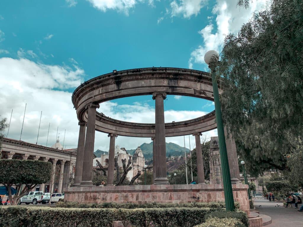 Parque Central in Xela