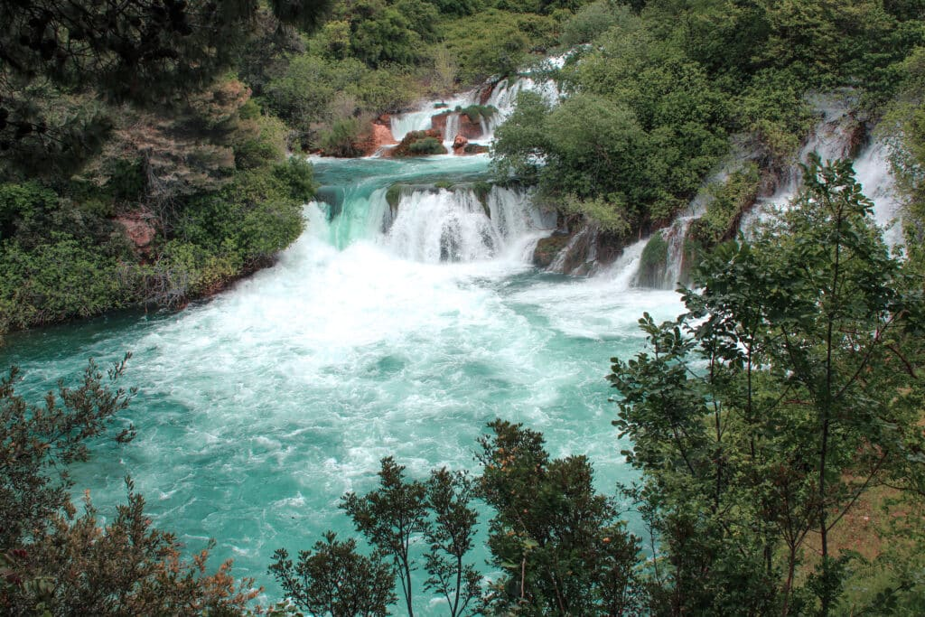 Plitvice Lakes or Krka